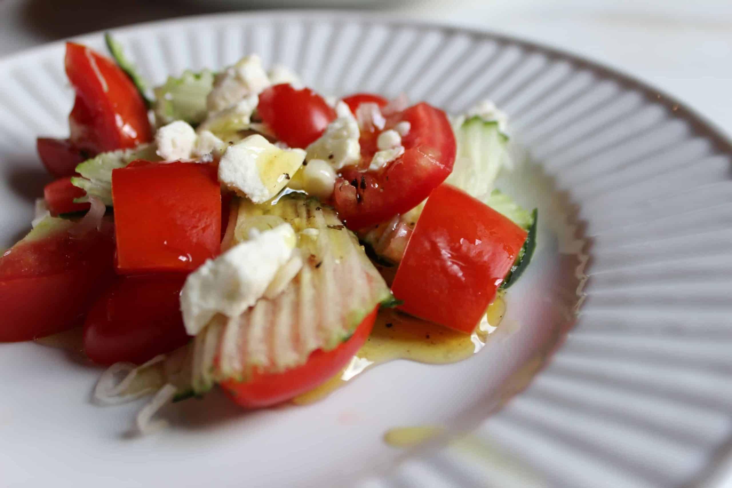 Tomato Salad with Honey Dressing!