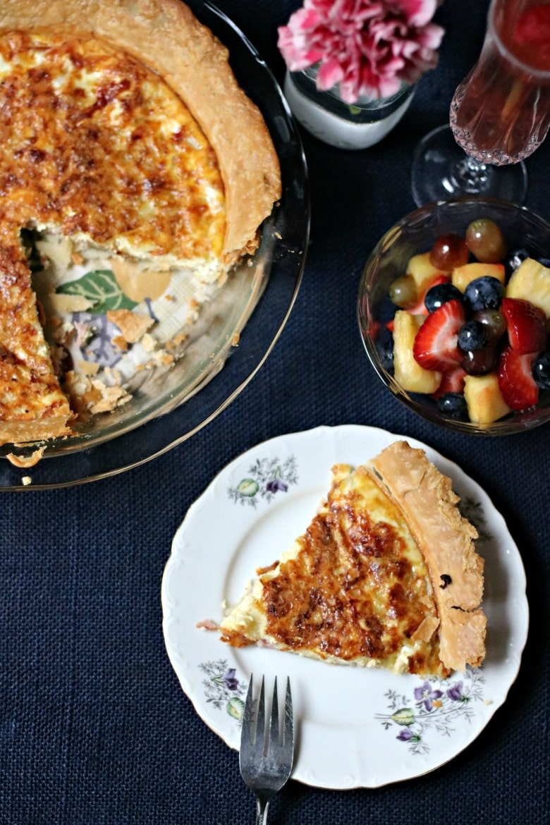 Ham and Cheese Quiche