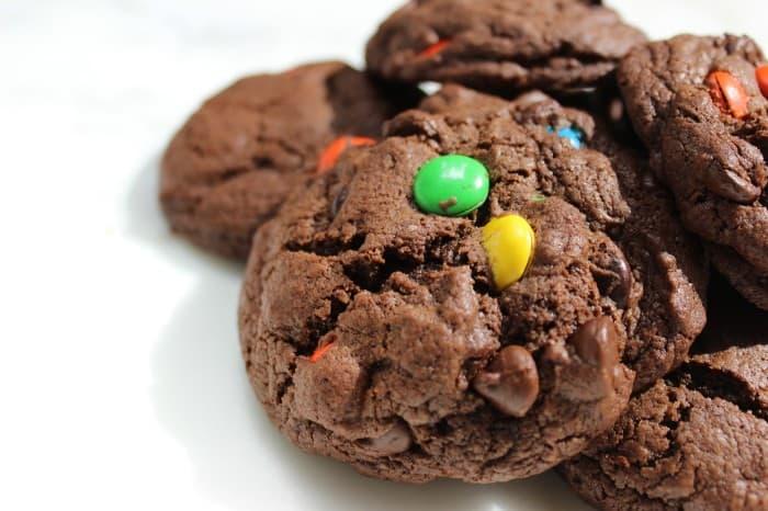 Burnt Macaroni Chocolate cookies 127a