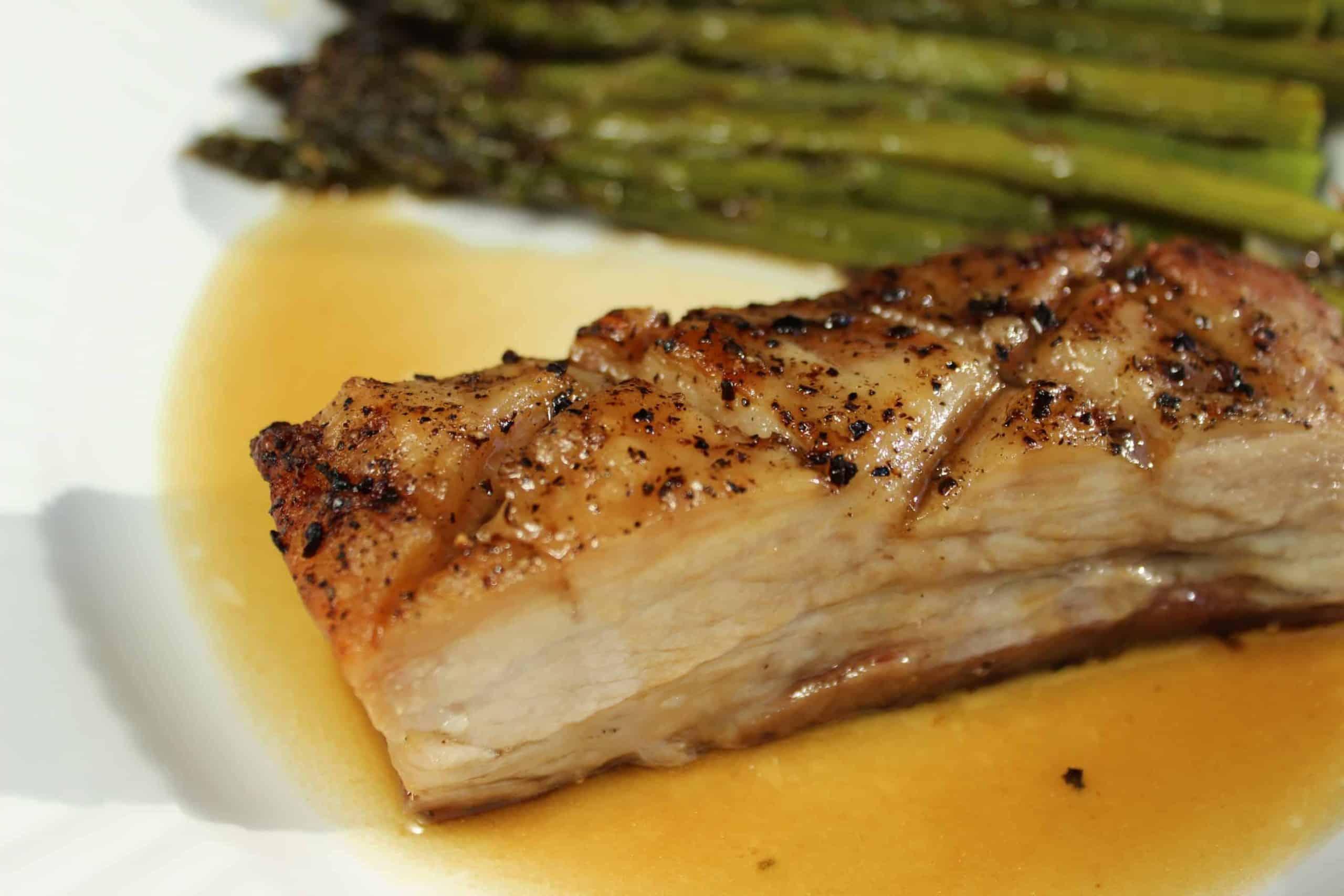 Roasted Pork Belly!