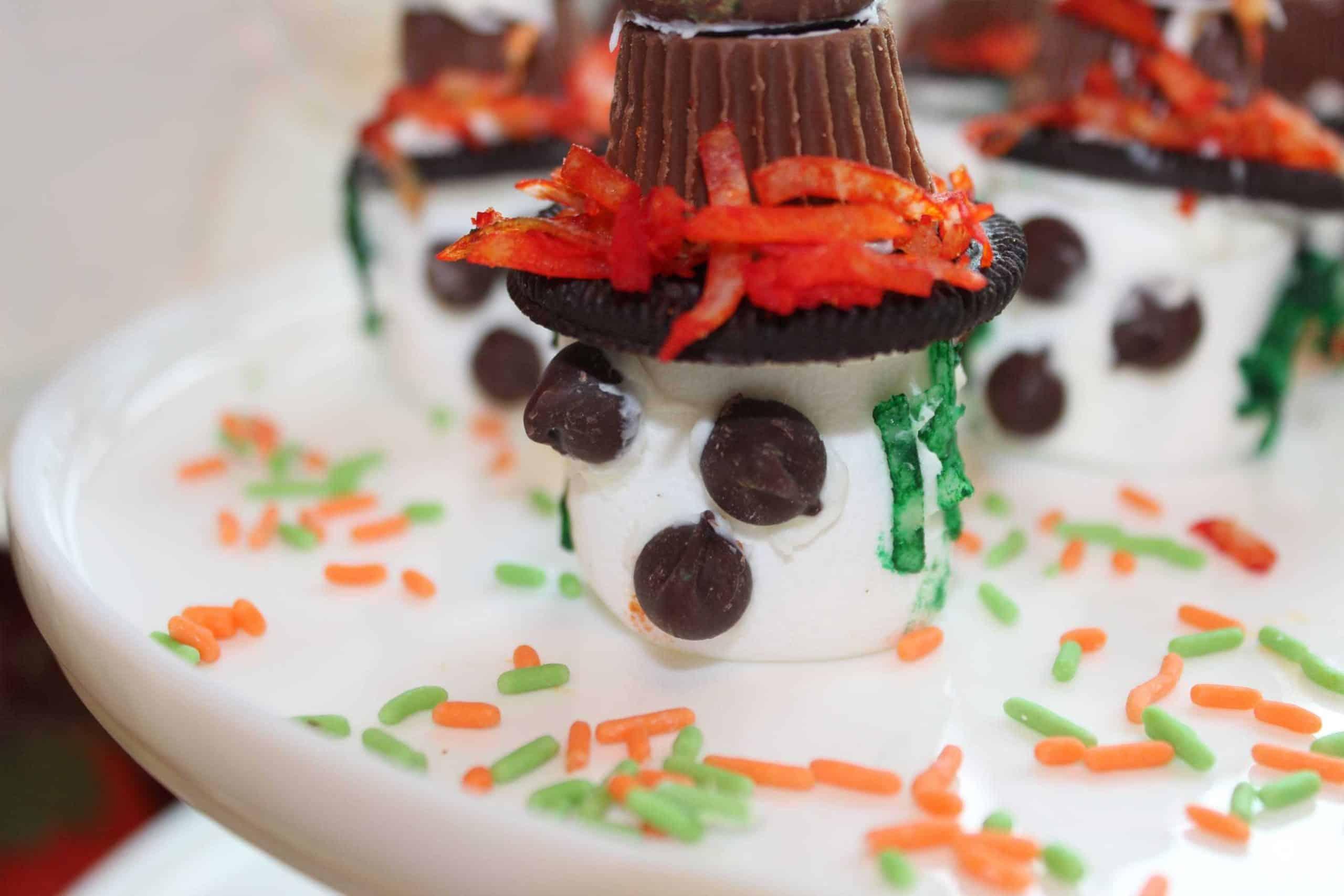 Halloween Marshmallow Treats!