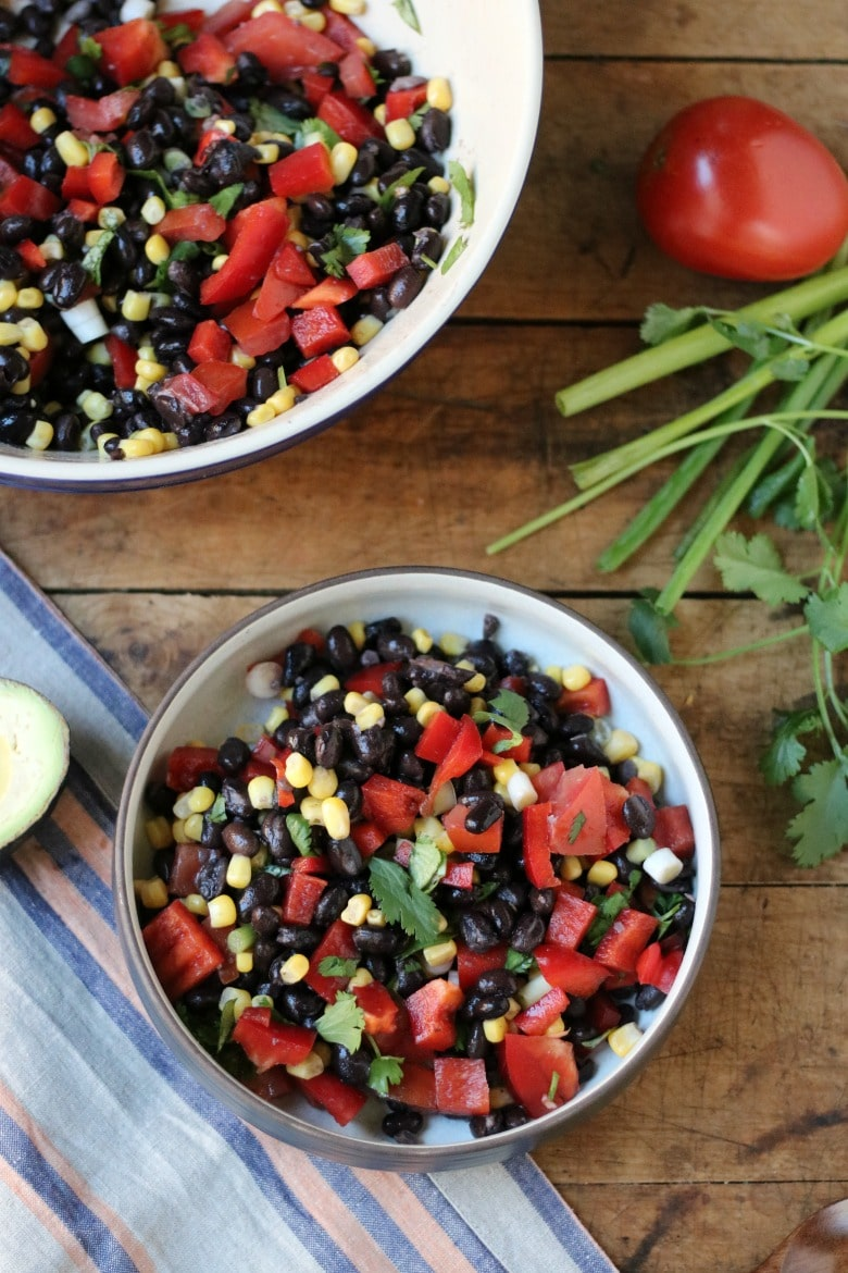Black Bean and Corn Salad!