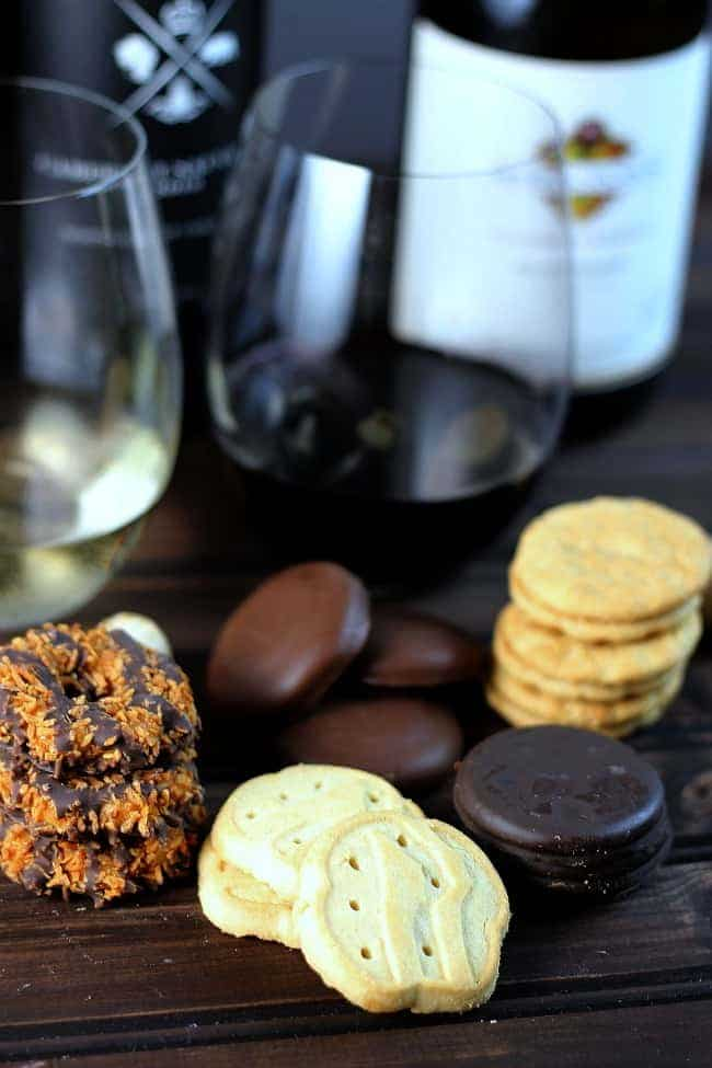 Wines to Pair with Girls Scout Cookies
