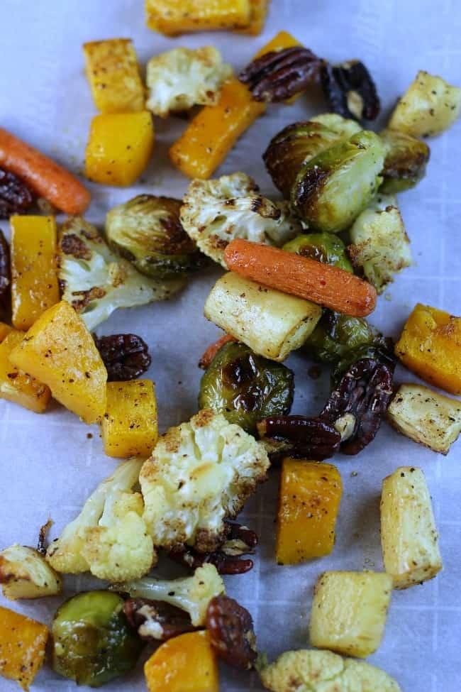 Maple Glazed Vegetables