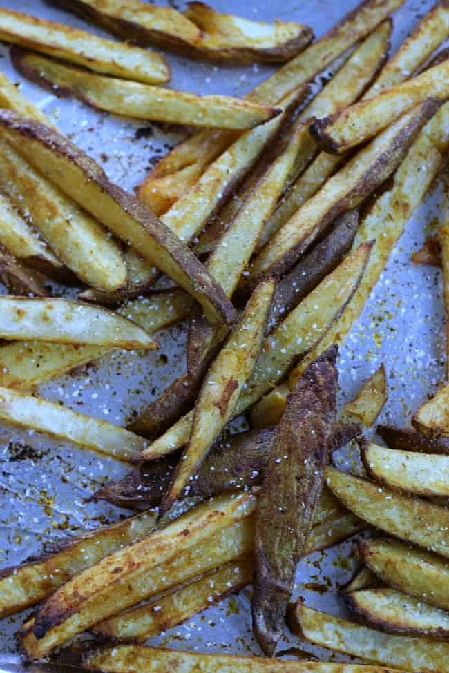 Homemade Spicy French Fries