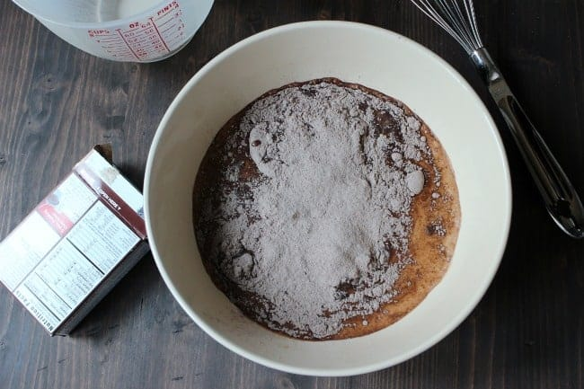 No Bake Chocolate Pie c