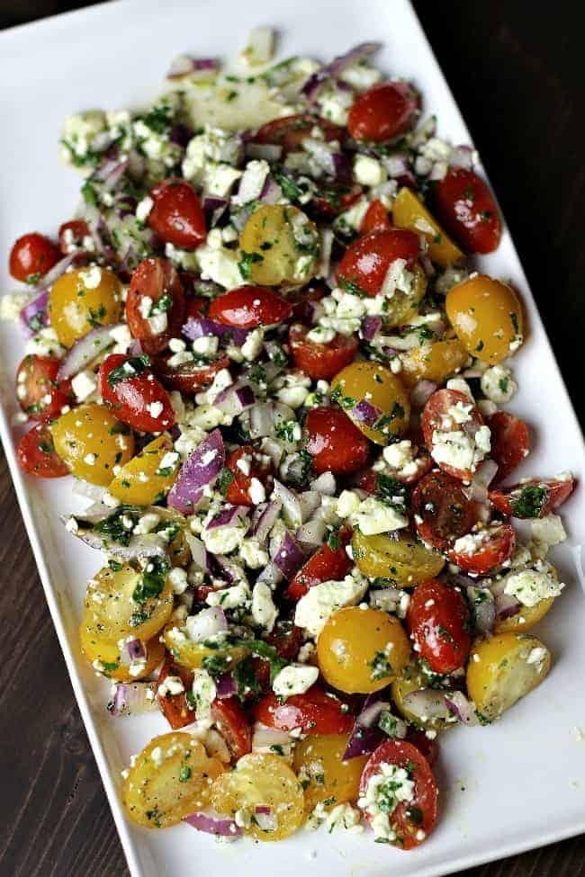 Tomato Feta Salad