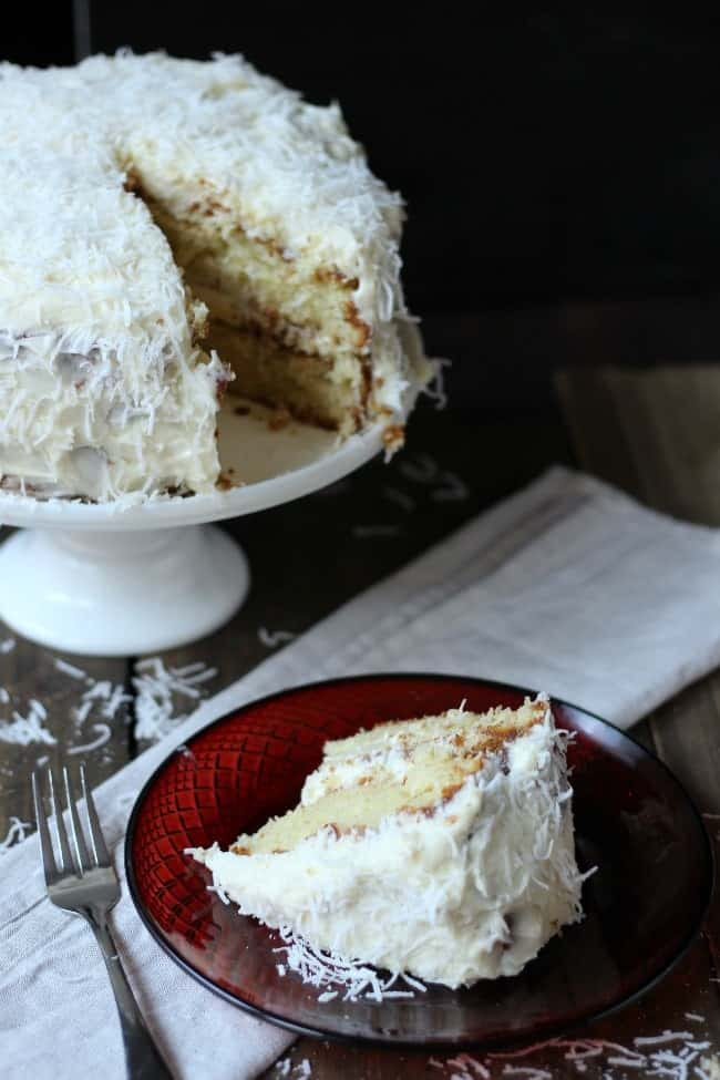 Ina's Coconut Cake