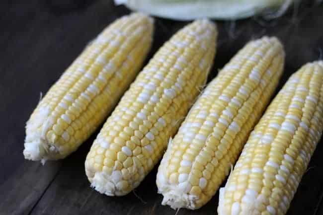 Corn on the Cob pasta