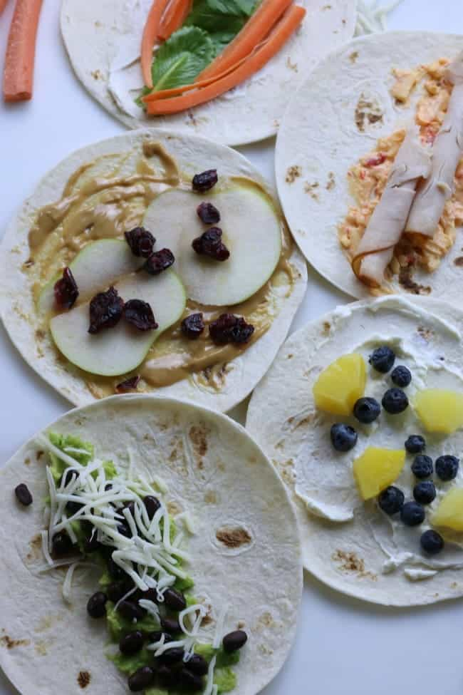 Kid Inspired Wrap Recipes