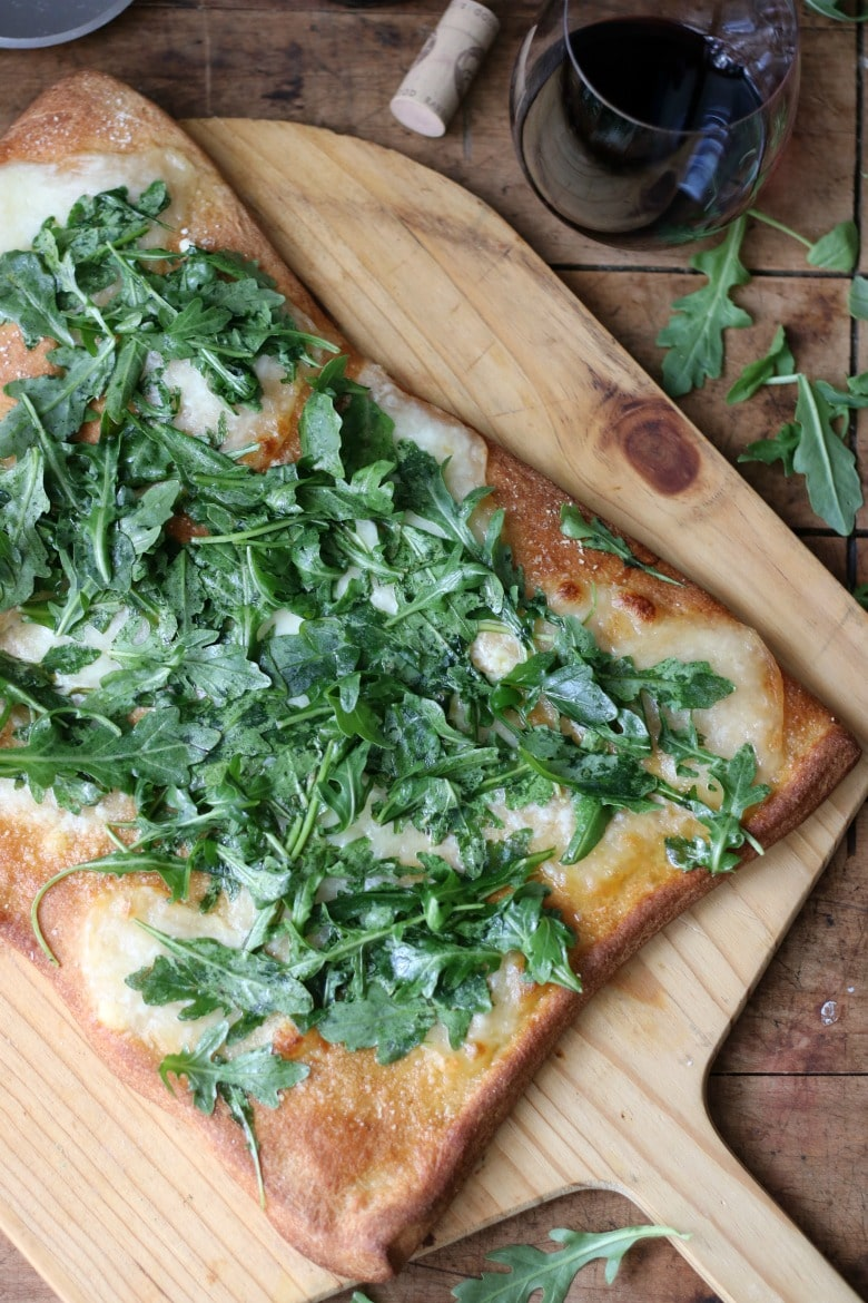 Green Arugula Pizza
