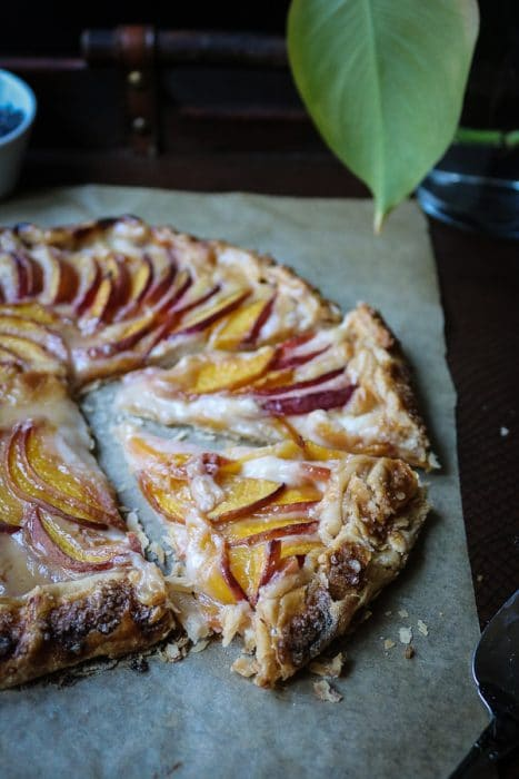 Peaches Crostata