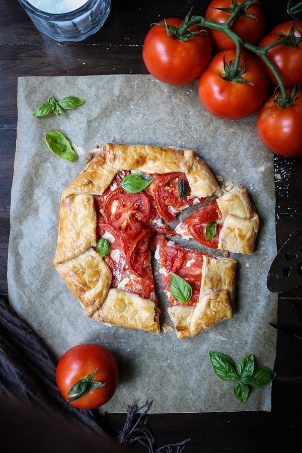 Tomato Ricotta Galette