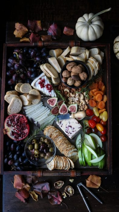 A Cheese Board perfect for Thanksgiving